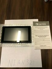 Replacement  Nintendo Switch 32GB Gray Original System Console Tablet Only