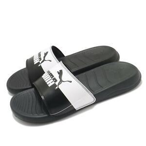 Puma Popcat 20 Split Black White Men Unisex Slipper Slide Sandal Shoes 380674-01