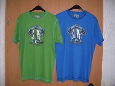 ENZO LORENZO Sportswear TShirt Shirt blau oder grün Kurzarm Grösse L neu
