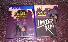 The Swindle (PS4) NEW SEALED W/CARD, STICKER, LIMITED RUN GAMES #40