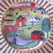 Franklin Mint SPRING FAIR Plate The American Folk Art Collection Steven Klein