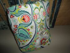 URBAN OUTFITTERS BOHO PAINTED MEDALLION FLORAL PAISLEY GREEN FULL DUVET 44 X 79