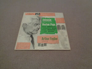 "Arthur Fiedler Boston Pops - Jalousie and Other Favorites - RCA Victor 7"" EP VG+"