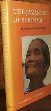 The Javanese of Surinam: Segment of a Plural Society. Malefijt, A de Waa 1st ed.