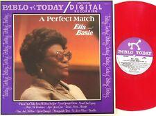 Ella Fitzgerald-Count Basie-A Perfect Match RED Vinyl LP Pablo Today-D2312110