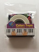 Music Piano Triumph Paper Tape Craft Seal Gift Decorations Wrapping
