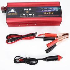 Universal 6000 W 12V to 220V  Car Solar Power 6000W Inverter Converter UK