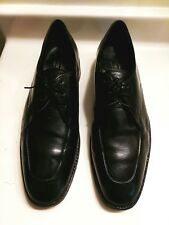 Freeman Shoes Size 11 Free-Flex Leather Apron Toe Mens Part Wingtip Dress Oxford