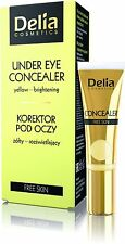 Delia Skin Yellow Under Eye Concealer Brightening 10ml