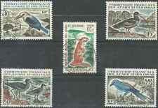 Timbres Animaux Oiseaux Afars et Issas 329/33 o lot 10247