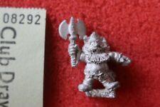 Citadel Norse Dwarf Dwarves with Axe Giant Slayer Games Workshop Berserker OOP
