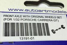 Autoart miniatura 13191-01 1:32 porsche carrera gt front axle with original Wheels