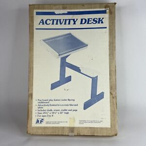 Vintage American Toy and Furniture Company Activity Desk Factory Sealed Box USA