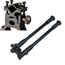 "Us Adjustable 8""to10"" Spring Return support Foldable Rifle Bipod w/Barrel Mounts"
