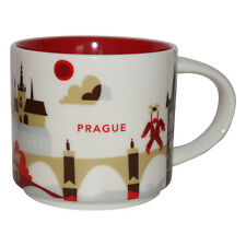 Starbucks City Mug You Are Here Prag Tasse Prague Coffee Cup Kaffeetasse Pott