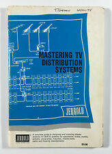 Mastering TV Distribution Systems TV Systems Diagrams Jerrold Electronics 1972
