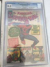 Amazing Spiderman #38 CGC 8.5 Stan Lee last Steve Ditko art free shipping