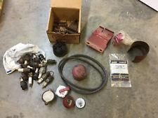 Lot Of Vintage Ih International Harvester Farmall Parts Caps Bolts 431