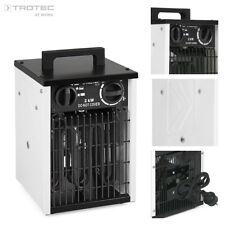 Trotec TDs 10 calefactor Eléctrico Portátil Aerotermo generador con 2 kW