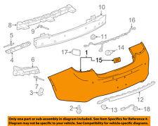 Buick GM OEM 13-16 Verano Rear Bumper-Cover 22998264