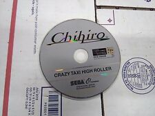sega crazy taxi high roller arcade gd rom disk and security chip