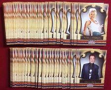 2011 PANINI AMERICANA SET - ( 100 CARDS ) PAMELA ANDERSON/JUSTIN BEIBER/BAIO