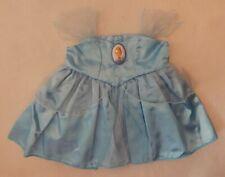 NEW Build A Bear Clothes Disney Cinderella Dress Blue NWT