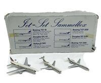 Schabak 1:600 Planes Delta Air Lines Lockheed L-1011 TriStar DC-9 Boeing 727 EUC