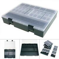 Large Capacity Carp Fishing Tackle Box w/ Ruler Built-in 6 Separate Small Boxes