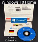 Microsoft Windows 10 Home Vollversion SB 32-Bit Hologramm-DVD Deutsch OVP NEU