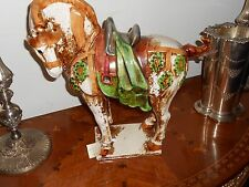 Terracotta Hand-painted Horse