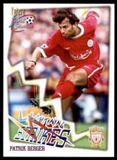 Futera Liverpool Fans' Selection 1999 - Patrik Berger (Lightning Strikes) No.68