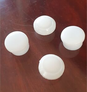 Front & Rear Fork Cap WHITE 4pcs for HONDA C100 C102 C105 CM91 C50 C65 C70 C90