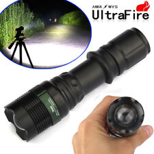 Ultrafire 15000LM T6 LED Zoom Super Bright Light Tactical Flashlight Torch Lamp