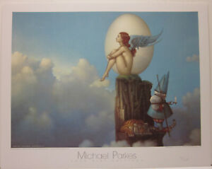 Magic Spring by Michael Parkes Open Edition Print