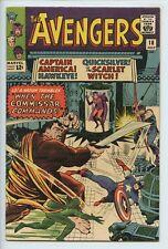 1965 MARVEL THE AVENGERS #18 JACK KIRBY COVER  FN+    S1