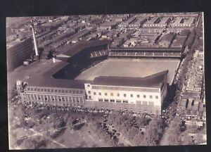 PHILADELPHIA ATHLETICS A'S SHIBE PARK BASEBALL STADIUM AERIAL POSTCARD COPY