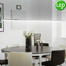 Design LED Pendel Hänge Beleuchtung ALU schwarz Arbeits Zimmer Büro Leuchte