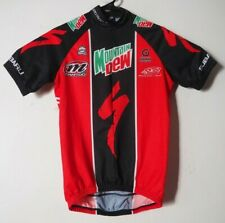 Specialized Mountain Dew Team Cycling Jersey Bike Bicycle MTB Red Black Small 2