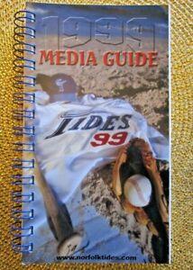 Vintage 1999 Norfolk Tides & New York Mets Media Guide 184 pages - Excellent