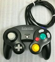 Official Nintendo Gamecube Controller Black japan DOL-03