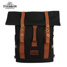 TOURBON Cycling Backpack Rucksack Laptop Commuter Bag Rear Seat Pannier Black