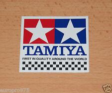 Tamiya 66001 chequer autocollant (58mm x 62mm), neuf