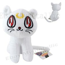 "Sailor Moon Minako White Guardian Cat Artemis 25cm / 10"" Soft Plush Doll Size L"