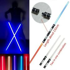 2 Pcs/Set Star Wars Lightsaber Led Flashing Light Sword Toys Cosplay Weapons