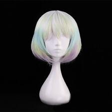 Land of the Lustrous Diamond Cosplay Wig Houseki no Kuni Rainbow Colorful Wigs