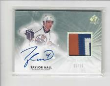 2011-12 SP Authentic Limited Patches #27 Taylor Hall AUTOGRAPH PATCH Oilers /25