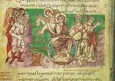 Christus als Weltenrichter, zu Psalm 9,5-6