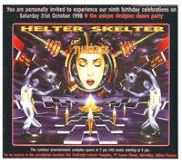 HELTER SKELTER - TIMELESS (TECHNODROME CD'S) 31ST OCTOBER 1998 (NORTH, STEAM)