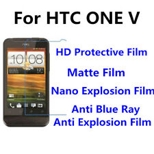 3pcs For HTC ONE V High Clear/Matte/Anti Blue Ray Screen Protector
